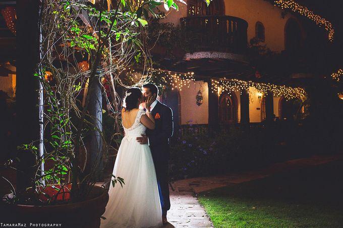 Hacienda Destination Wedding by Tamara Maz - 024