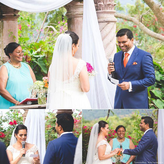 Hacienda Destination Wedding by Tamara Maz - 009