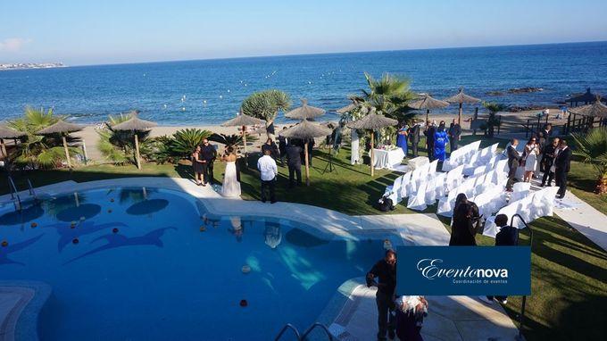 Wedding on the beach Marbella by Eventonova - 001