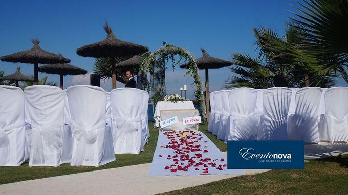 Wedding on the beach Marbella by Eventonova - 002