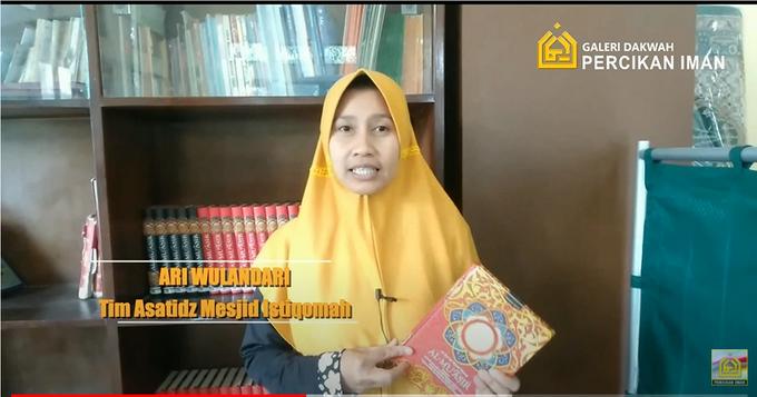 Reporter Wakaf Quran Percikan Iman by Panji Nugraha MC - 002