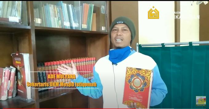 Reporter Wakaf Quran Percikan Iman by Panji Nugraha MC - 003