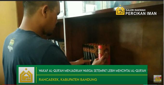 Reporter Wakaf Quran Percikan Iman by Panji Nugraha MC - 005