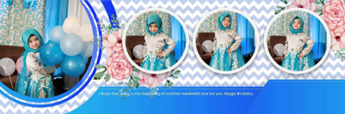 Hijab party dress  by Boenga Bridal Couture - 006
