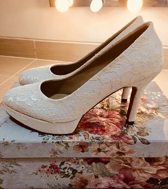 Couture wedding and party shoes by Boenga Bridal Couture - 010