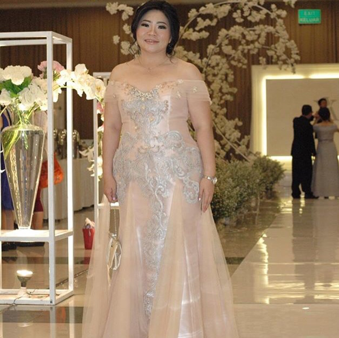 Party dress from Yogie and Angela wedding by Boenga Bridal Couture - 007