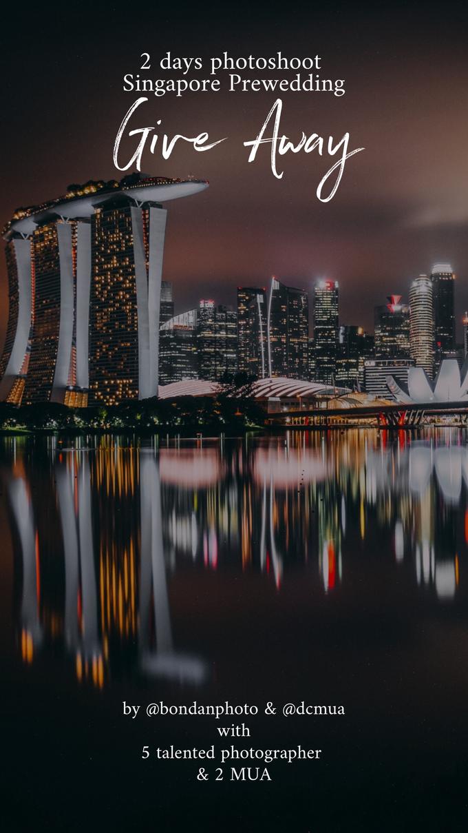 Give Away Free Singapore Pre Weddinv by Bondan Photoworks - 001