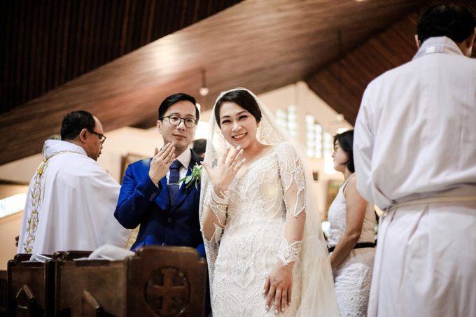 The Wedding of Andri & Mega  by Bonzai Decoration - 008