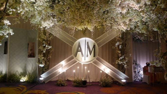 The Wedding of Andri & Mega  by Bonzai Decoration - 023