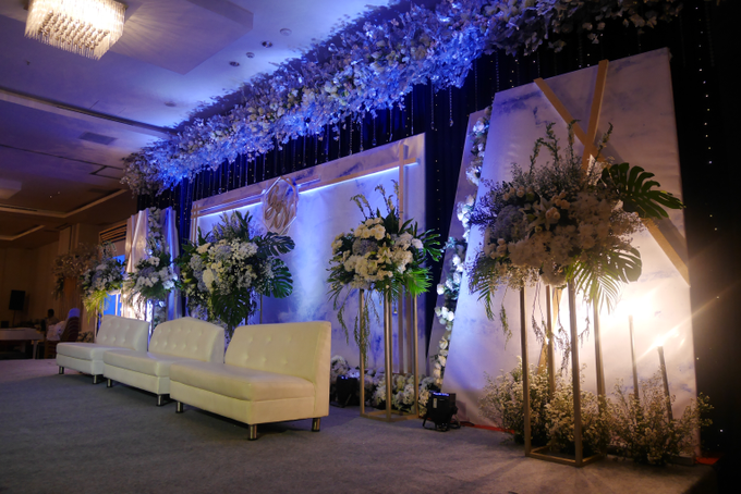 Blue Ice ambiance for Elegant Decor by Bonzai Decoration - 002