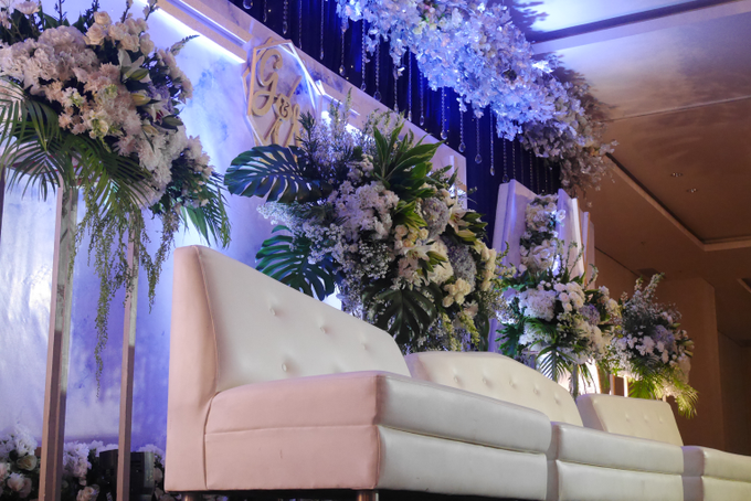 Blue Ice ambiance for Elegant Decor by Bonzai Decoration - 003