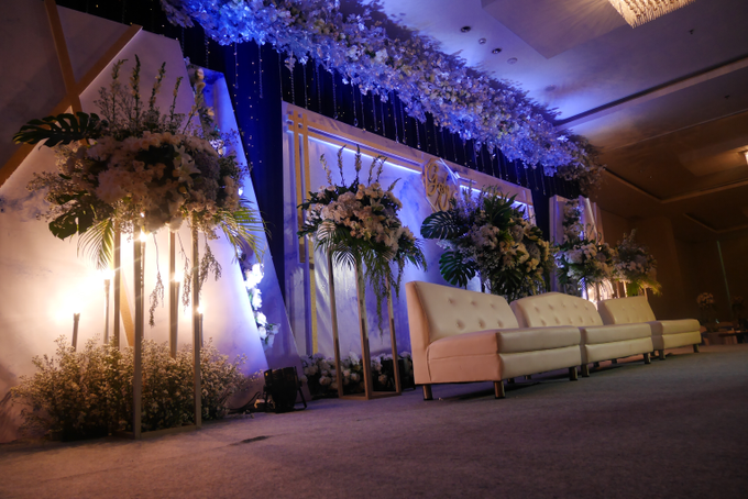 Blue Ice ambiance for Elegant Decor by Bonzai Decoration - 004