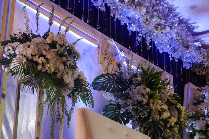 Blue Ice ambiance for Elegant Decor by Bonzai Decoration - 005