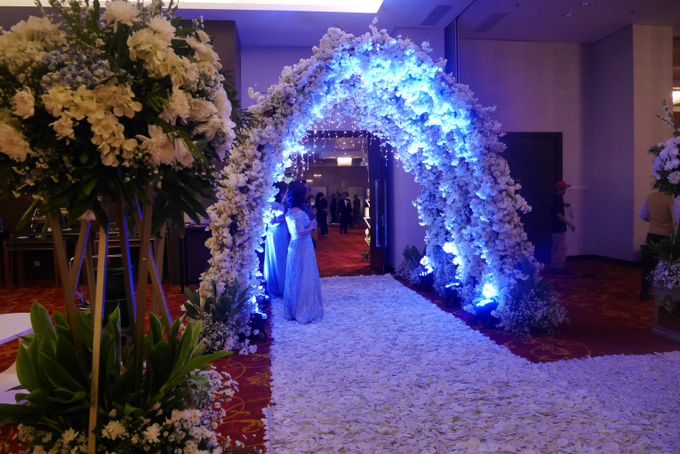 Blue Ice ambiance for Elegant Decor by Bonzai Decoration - 006