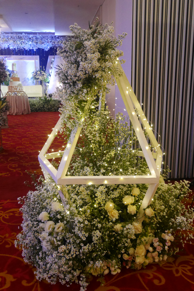 Blue Ice ambiance for Elegant Decor by Bonzai Decoration - 007