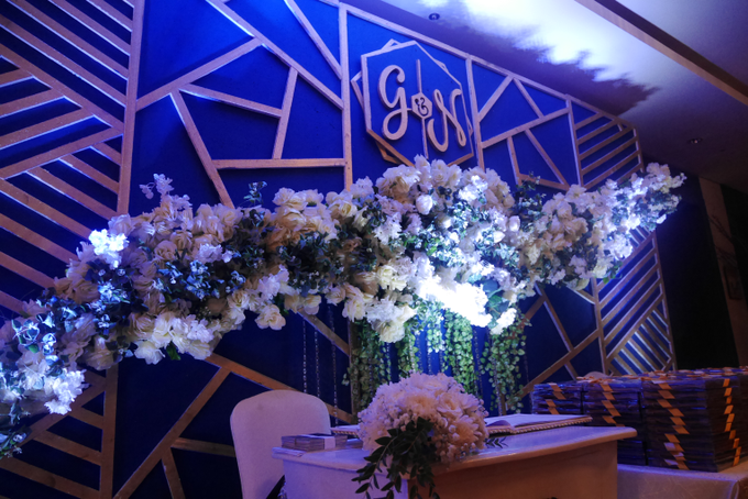 Blue Ice ambiance for Elegant Decor by Bonzai Decoration - 010