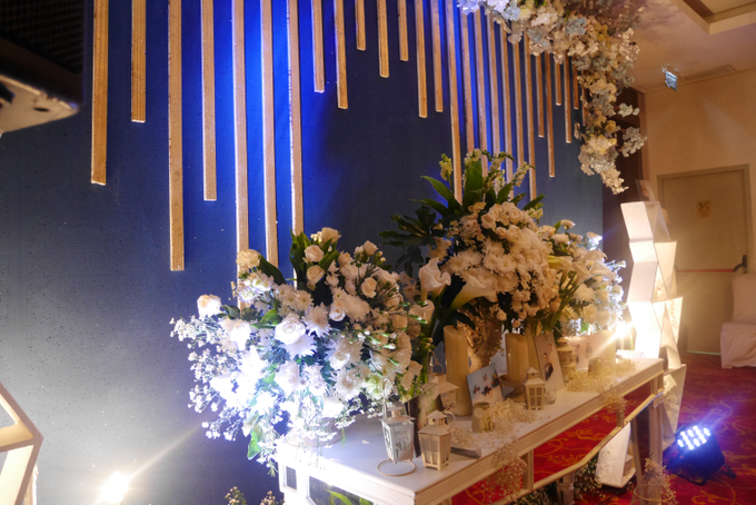 Blue Ice ambiance for Elegant Decor by Bonzai Decoration - 013
