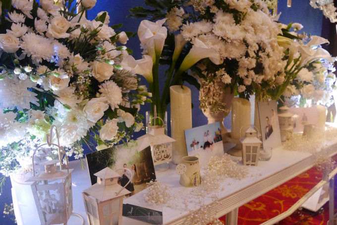 Blue Ice ambiance for Elegant Decor by Bonzai Decoration - 014