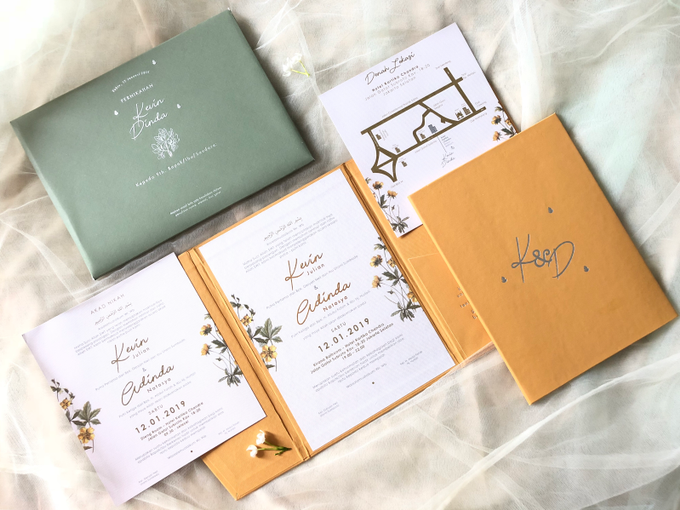 Kevin & Dinda Wedding Invitation by Book.Idea - 001