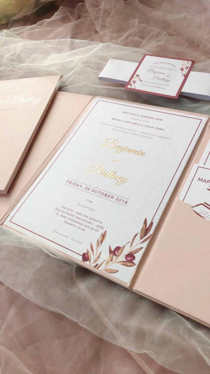 Benjamin & Brittney wedding invitation by Book.Idea - 001