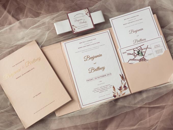 Benjamin & Brittney wedding invitation by Book.Idea - 002