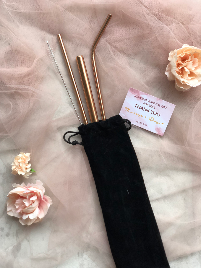 stainless straw set rose gold by Book.Idea - 002