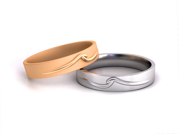 Mieve wedding band by Reine - 002