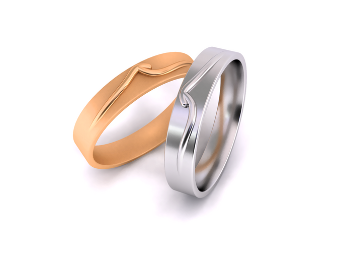 Mieve wedding band by Reine - 001