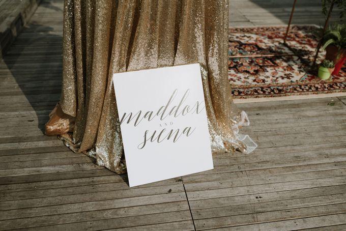 Modern Eclectic 1 by Everitt Weddings - 025