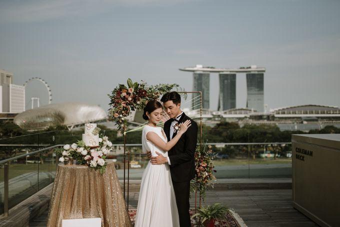 Modern Eclectic 1 by Everitt Weddings - 034