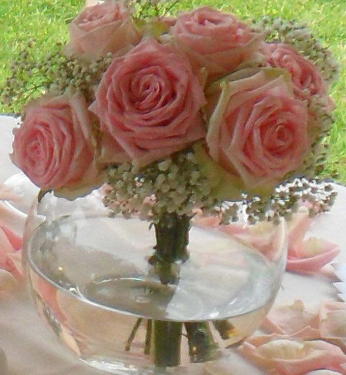 Romantic light pink wedding by Sogni Confettati - 047