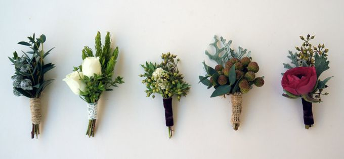 Boutonnieres & Corsages by The Olive 3 (S) Pte Ltd - 013