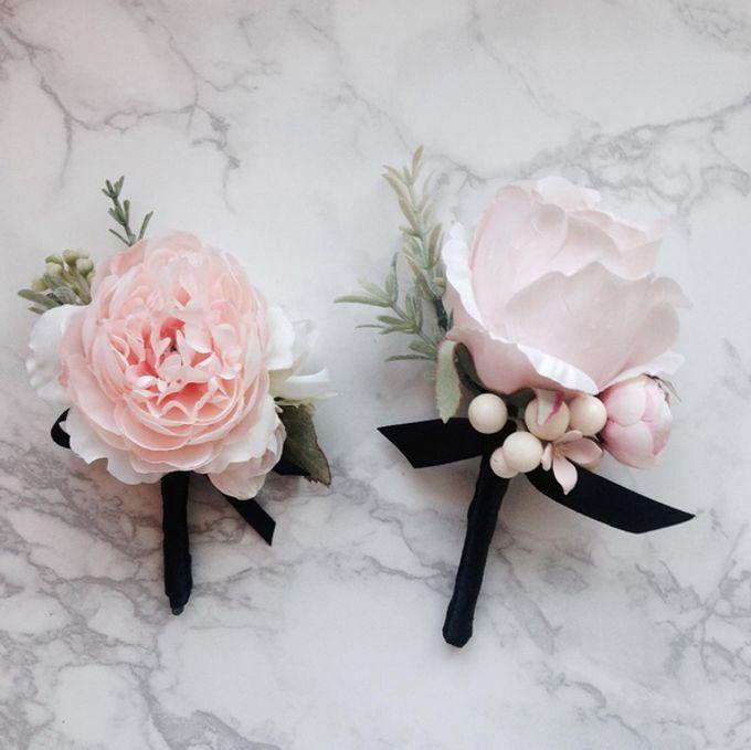 Boutonniere & Corsage by La Belle Vie flower - 002