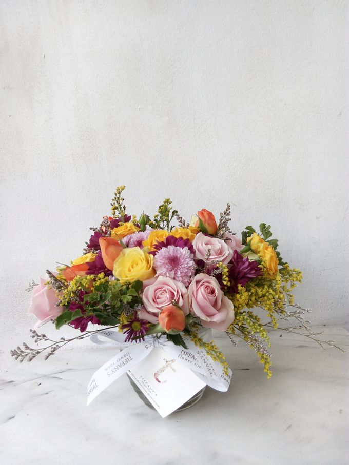 Vase Arrangement by Tiffany's Flower Room - 005