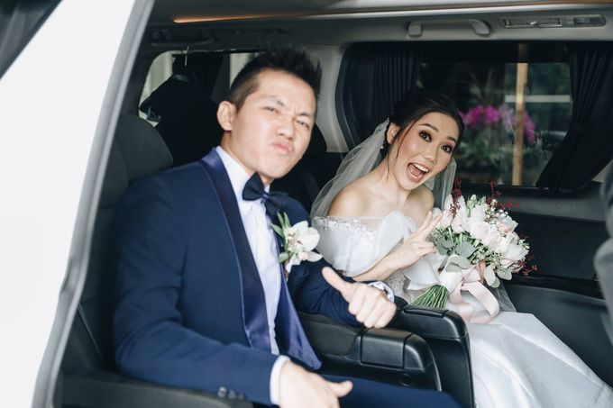 William & Selvi Wedding at Hilton Hotel by PRIDE Organizer - 019