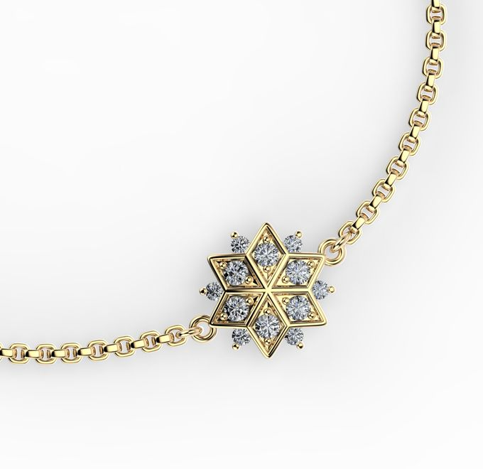 Snowflakes Collection by Mirage Jeweler - 002