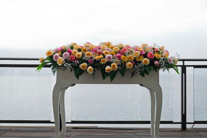 Wedding at Bracha Villa Uluwatu by d'Oasis Florist & Decoration - 007