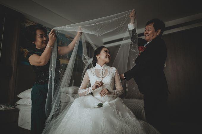 Bram & Tiany Wedding Day by One Heart Wedding - 033