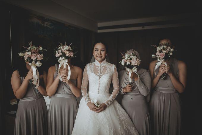 Bram & Tiany Wedding Day by One Heart Wedding - 040