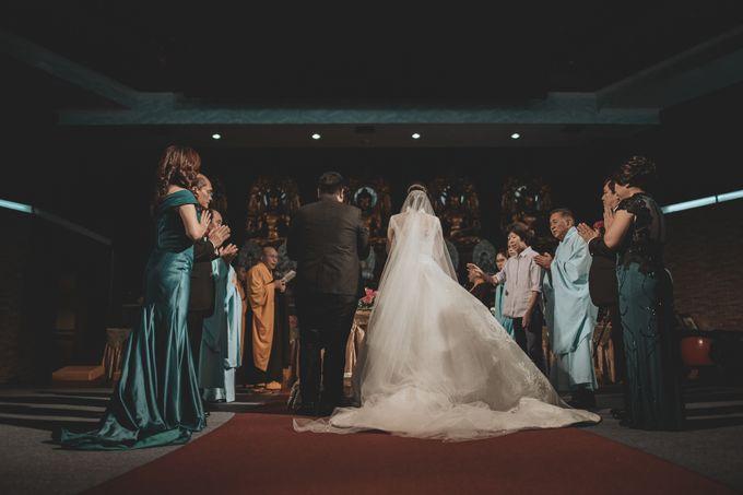 Bram & Tiany Wedding Day by One Heart Wedding - 049