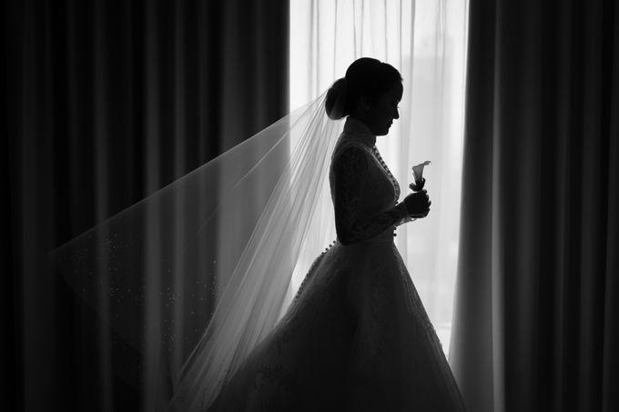 Bram & Tiany Wedding Day by One Heart Wedding - 035