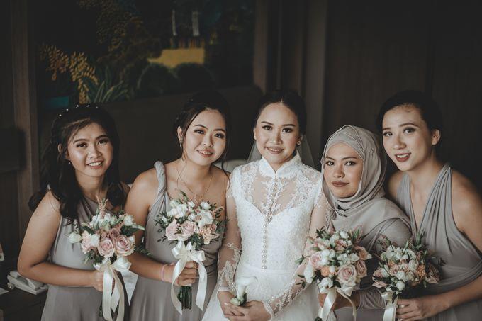 Bram & Tiany Wedding Day by One Heart Wedding - 041