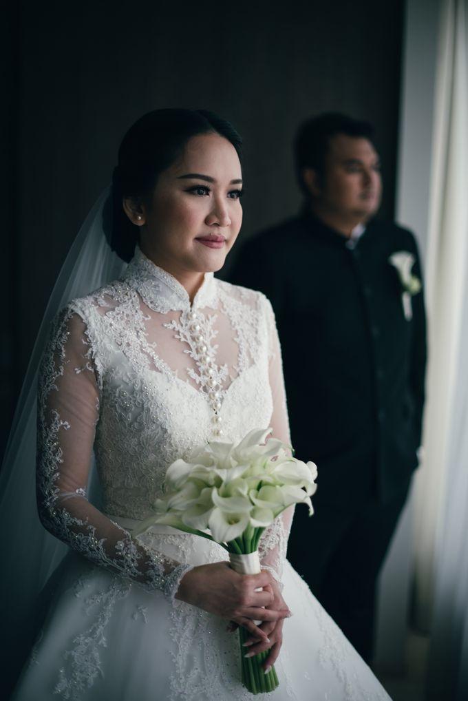 Bram & Tiany Wedding Day by One Heart Wedding - 043
