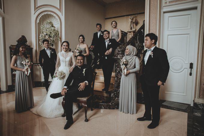 Bram & Tiany Wedding Day by One Heart Wedding - 047
