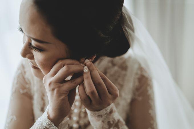 Bram & Tiany Wedding Day by One Heart Wedding - 027
