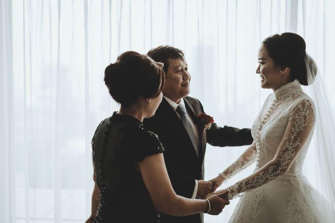 Bram & Tiany Wedding Day by One Heart Wedding - 029
