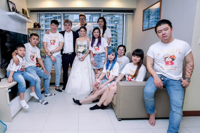 Brendan & Wenqian Wedding Day by Filia Pictures - 008