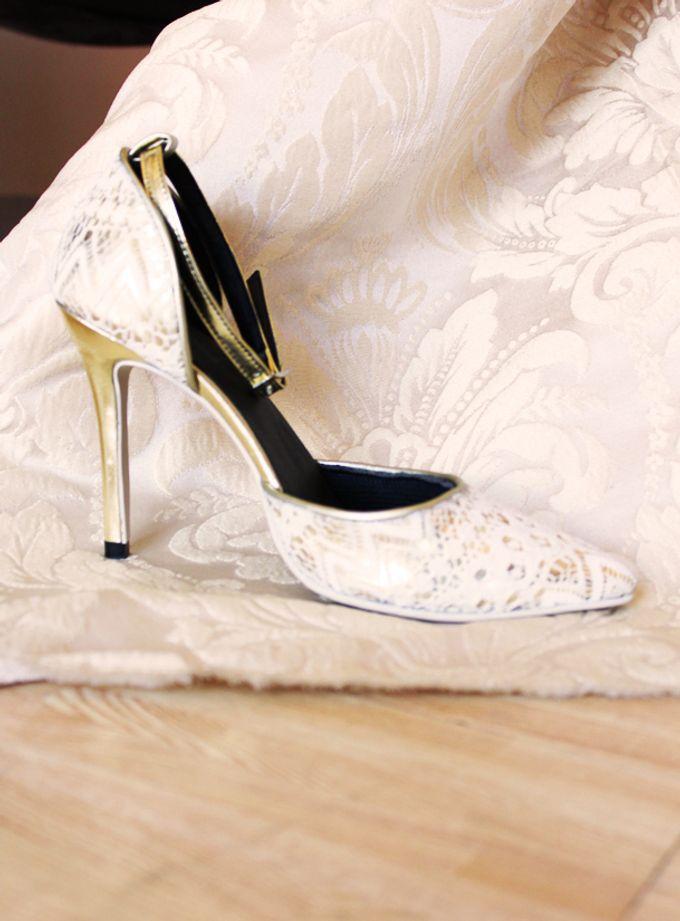 Bridal Lace Shoes by Risqué Designs - 003