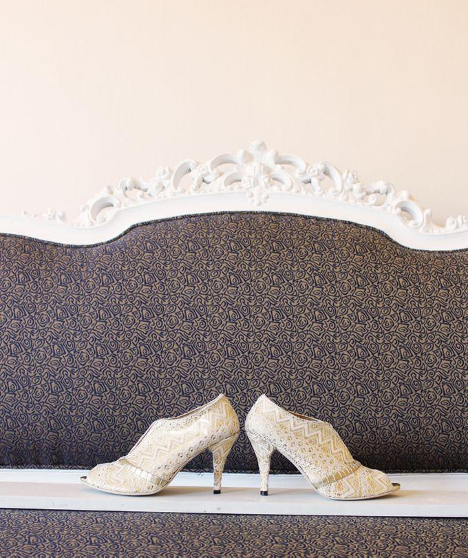 Bridal Lace Shoes by Risqué Designs - 004