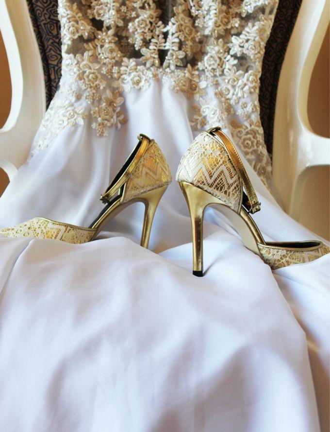 Bridal Lace Shoes by Risqué Designs - 005